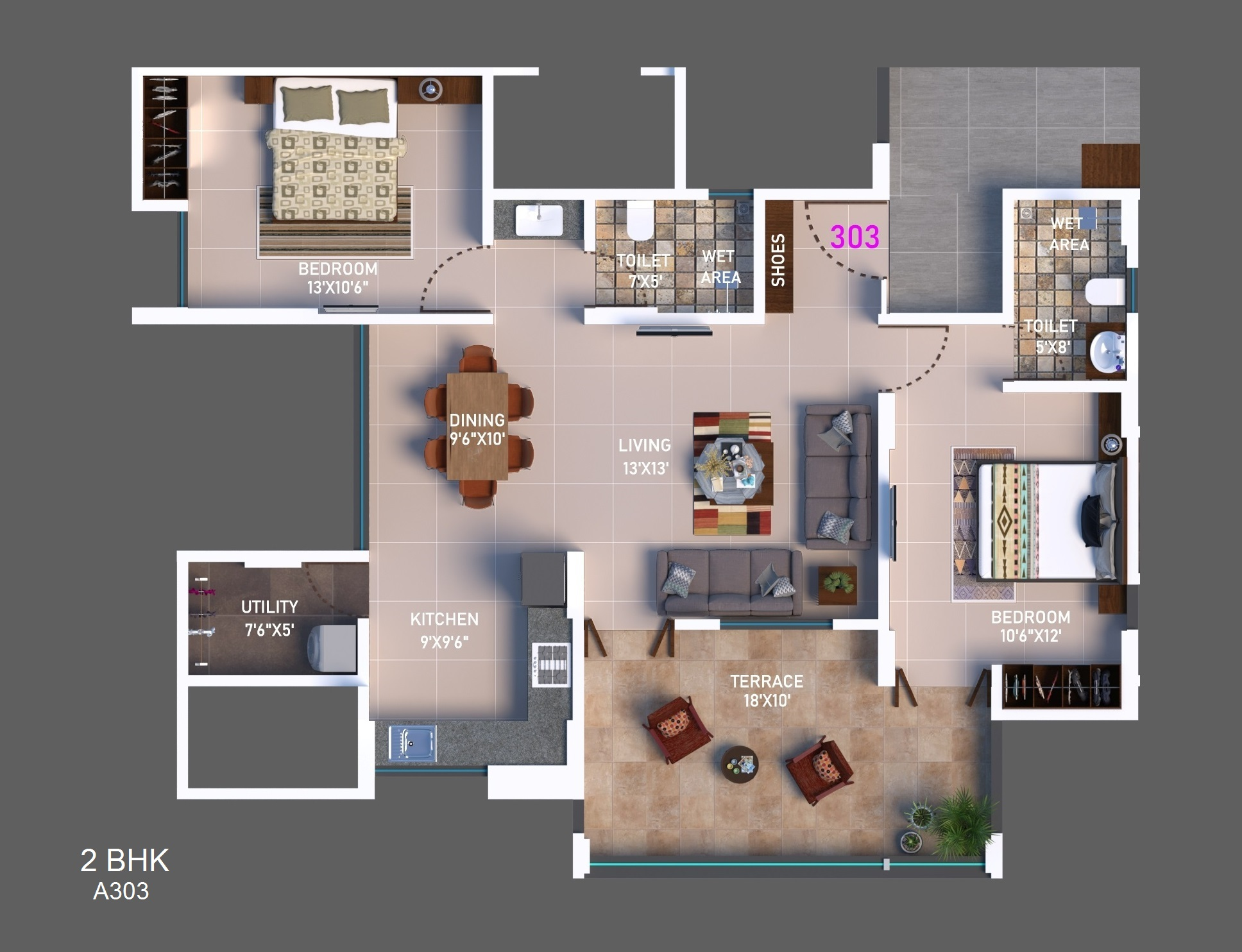 2 BHK Option 7